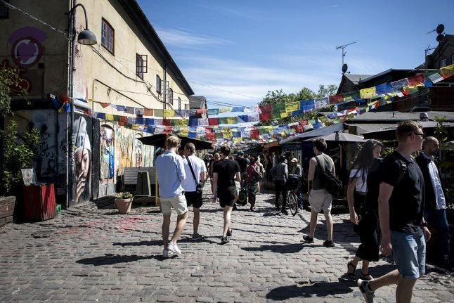 Seven hospitalized after eating hash cakes from Denmark's Christiania