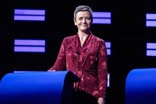 Denmark's Vestager reappointed EU competition commissioner