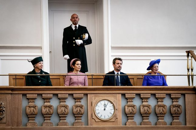 Trust is key word for PM at opening of Denmark's parliament