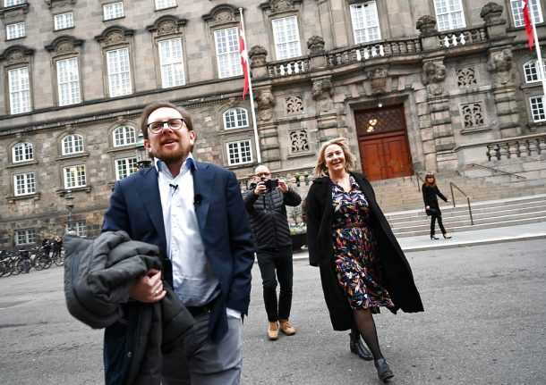 Here is Denmark's latest right-wing political party