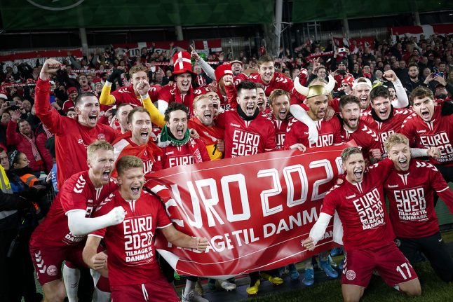 Danish footballers look forward to playing 'home' Euros in own back yard