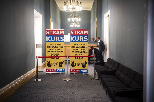 Did far-right Danish party break rules to qualify for election?
