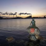 Denmark's Little Mermaid vandalized with Hong Kong message