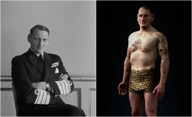 The Danish king who was heavily tattooed – and how his ink was recreated