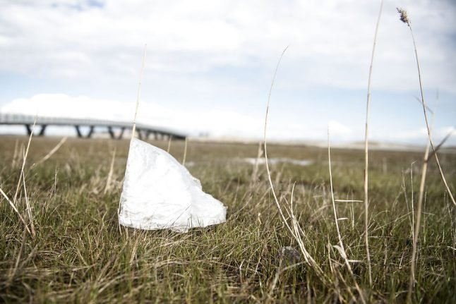 Denmark's plastic littering mapped out in world-first project