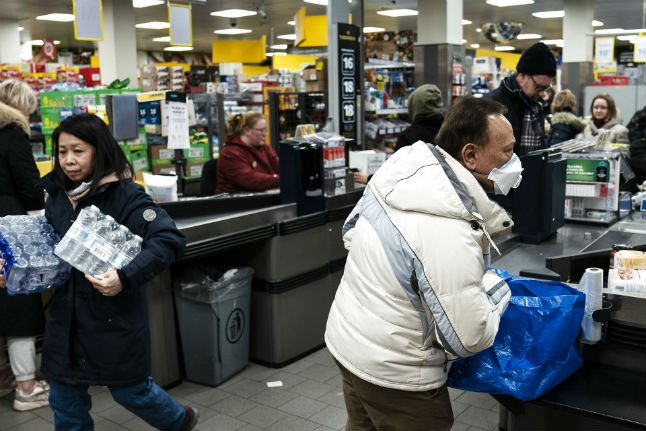 Why Denmark's supermarkets are not going to run out of goods
