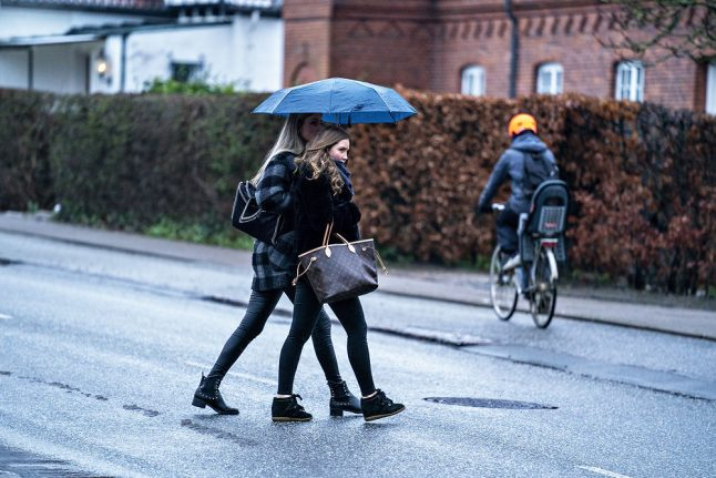 Could Denmark see the first signs of spring this week?