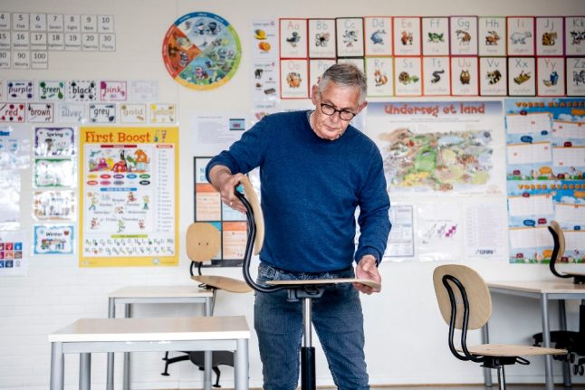 How schools and day care centres in Denmark are gearing up for reopening