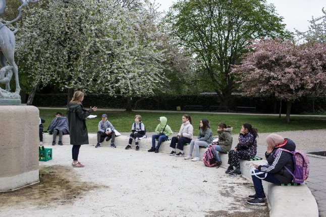 Outdoor classes with gym to stay warm: Denmark's reopened schools