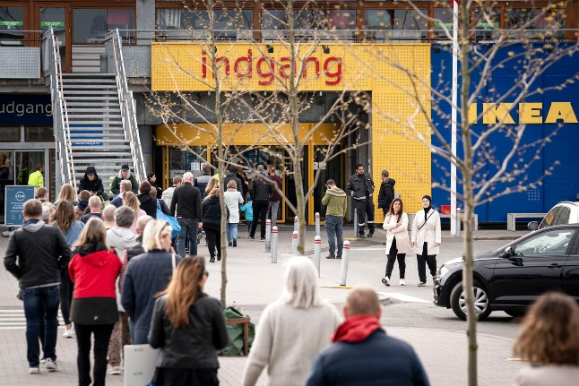 Ikea reopens in Denmark after country's worst retail month this century