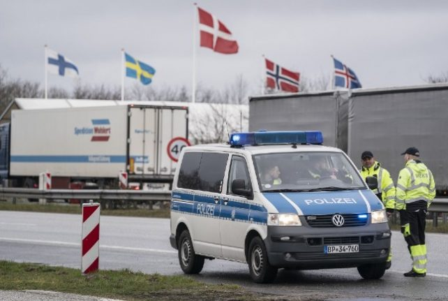 Germany 'willing to reopen Danish border': home minister