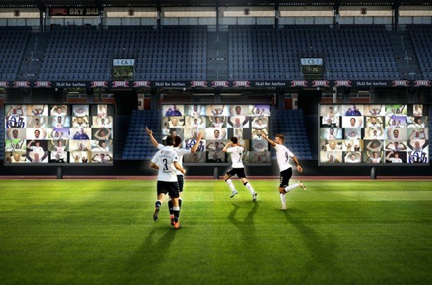 Danish football restarts with drive-ins and virtual stadiums