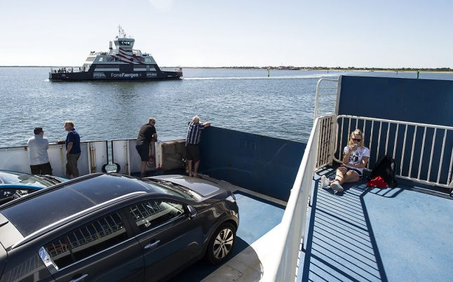 Free ferry scheme swamps Danish islands with extra tourists