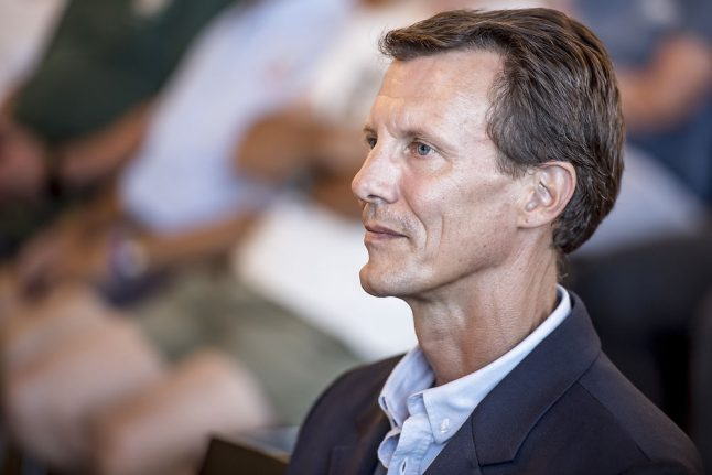 Denmark's Prince Joachim to recover fully from brain clot: palace