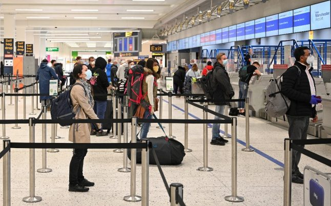 UK publishes list of European countries exempt from quarantine rule