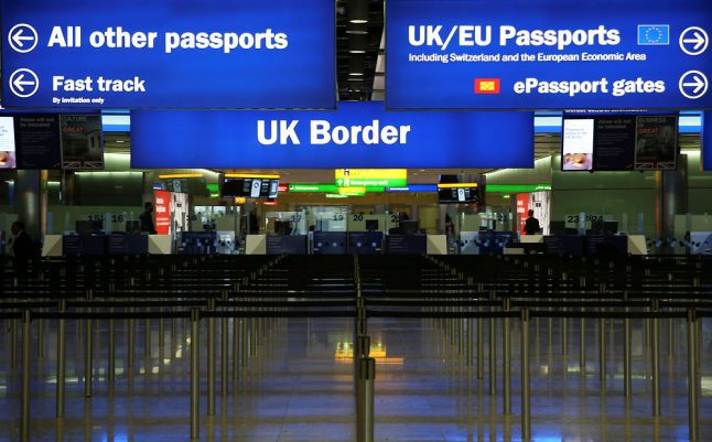 Passengers warned forms still needed for travelling to the UK from Denmark