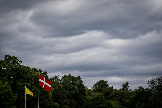 Torrential rain expected across southern and western Denmark