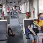 Free face masks given to public transport passengers in Aarhus