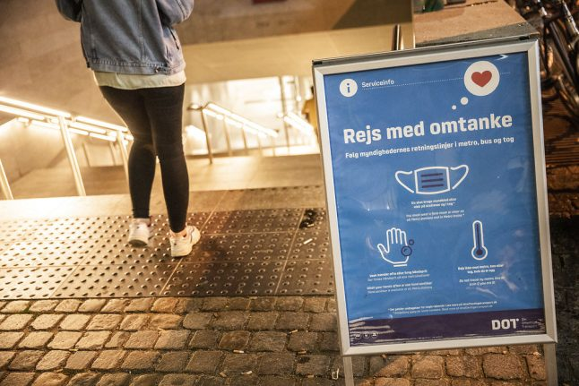 Coronavirus in Denmark: infections 'stabilised', but face masks the new normal