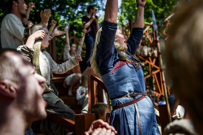Why not all Vikings were blond-haired and blue-eyed