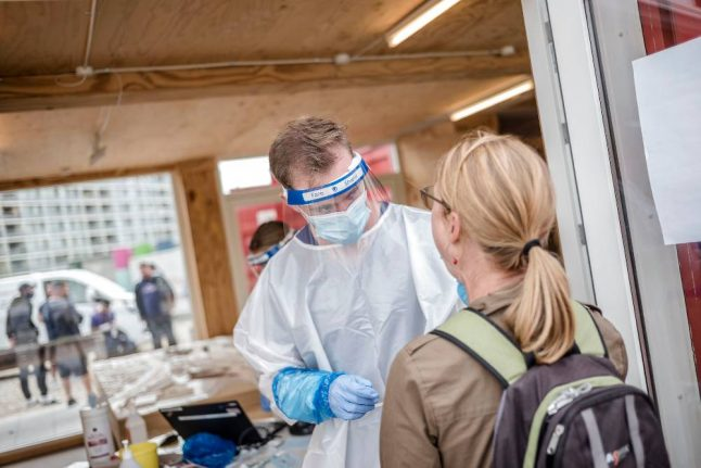 Denmark reaches highest number of daily coronavirus infections since April