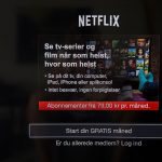 Is Netflix a worse deal in Denmark than in any other country?
