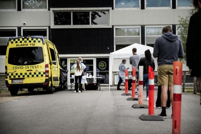Denmark registers highest daily Covid-19 cases since April