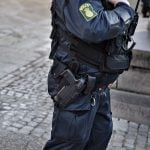 Why is Denmark's police asking for new service weapons?
