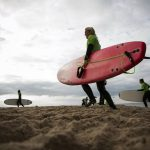 Why Denmark's 'Cold Hawaii' is surfing on virus wave