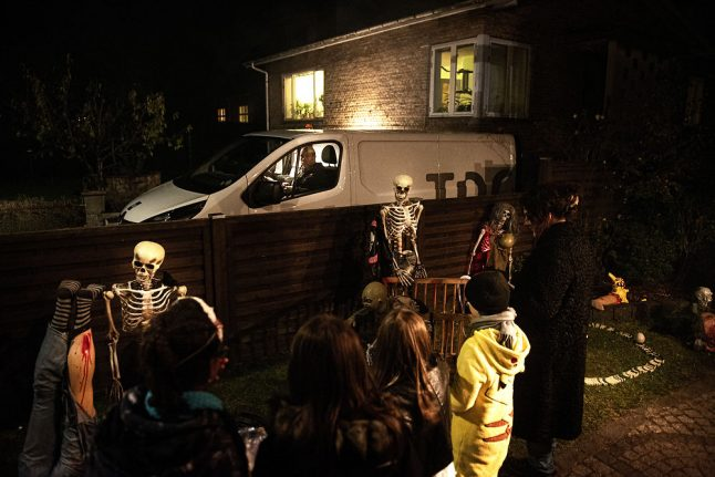 Don't go trick or treating on Halloween this year, says Danish health service