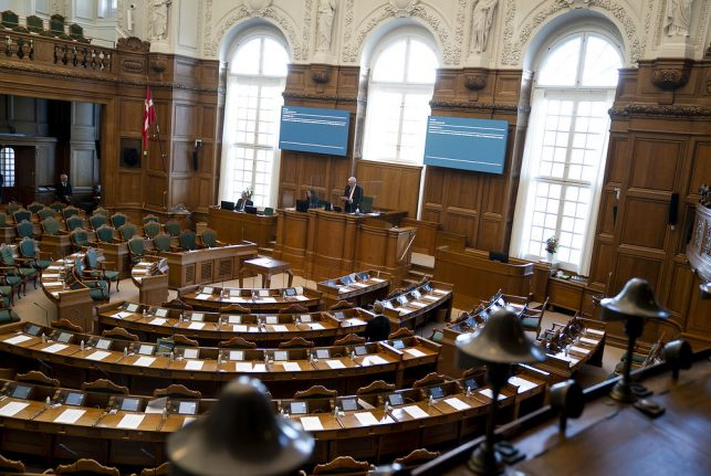 Is Denmark's parliament at the centre of a coronavirus outbreak?
