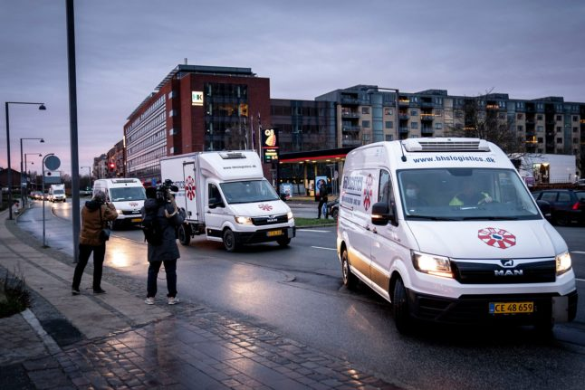 First doses of Pfizer's Covid-19 vaccine arrive in Denmark