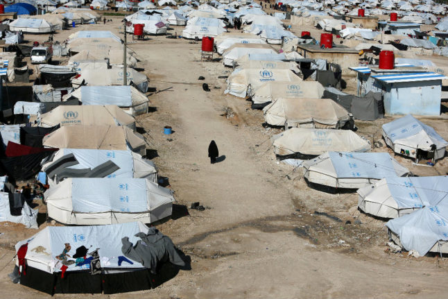 Danish government 'withheld security report' on children in Syrian camps