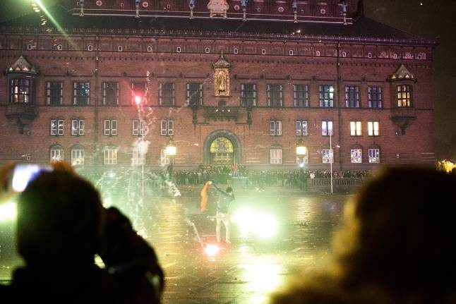 Police to close off Copenhagen's main square on New Year's Eve
