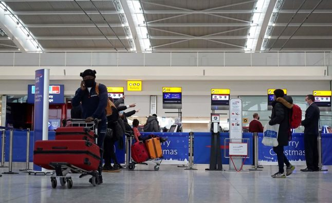 Denmark extends ban on flights from UK due to Covid-19 mutation