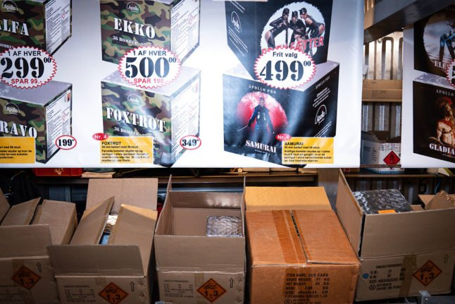 Denmark announces harsher punishments for fireworks offences