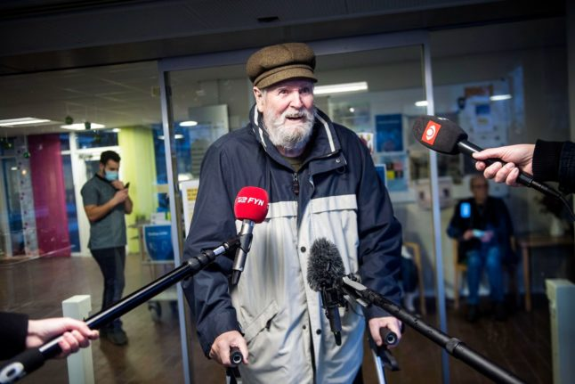 79-year-old man first to get Covid-19 vaccine in Denmark