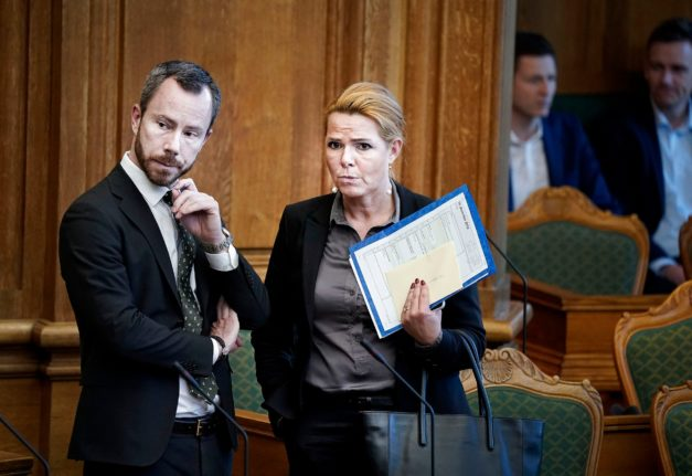 Denmark's former immigration minister resigns as deputy party head