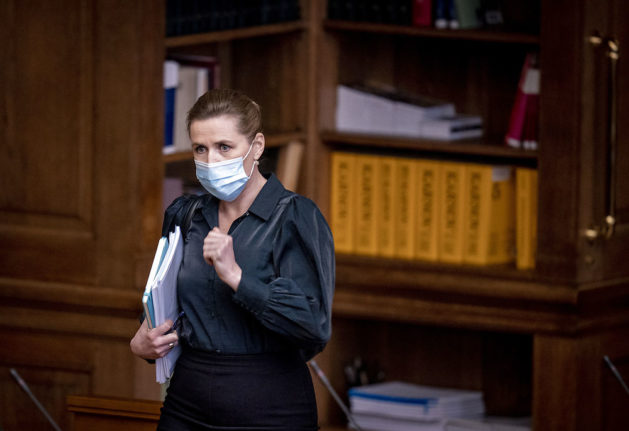 Danish PM hints at new extension of Covid-19 lockdown despite drop in infections