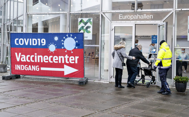 Danish region pauses Covid-19 vaccination for new groups after supply delay
