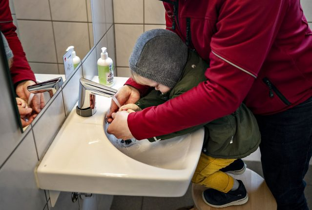 Danish government declines to close childcare but asks parents to keep small children at home