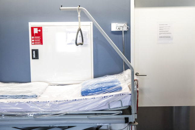 What effect could Denmark's recommended Covid-19 reopening have on hospitals?