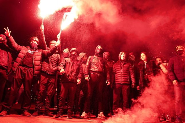 Eight arrested at anti-lockdown protest in Danish capital