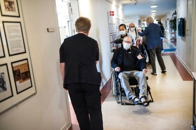 Number of Covid-19 cases and tests falls at Danish care homes