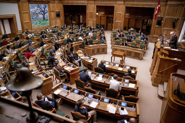 New Danish epidemic law could be reviewed by parliament in autumn