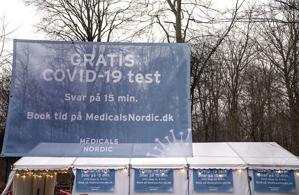 Danish Covid-19 hospitalisations at lowest point since early December