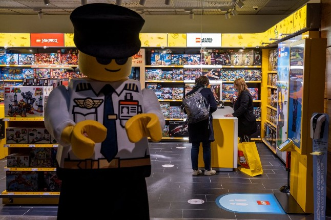 Lego posts record profits as locked-down children spur sales