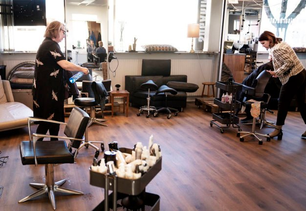 Why a haircut could cost more when Denmark's salons reopen