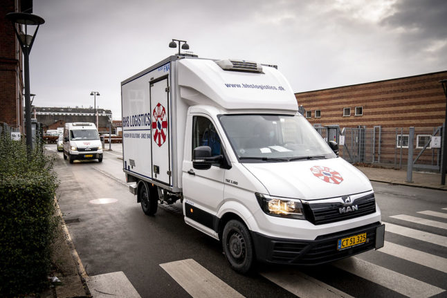 Covid-19 vaccine supplier to double deliveries to Denmark