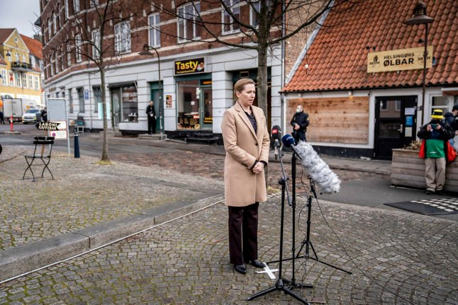 Danish PM hints at change to Covid-19 vaccination programme